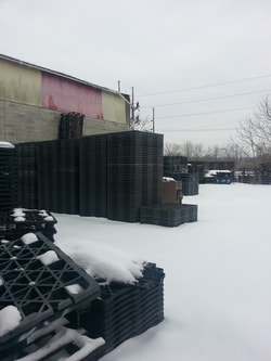 Cold Weather & Plastic Pallets