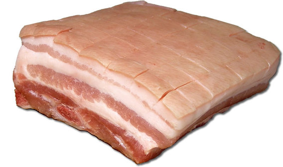 Bacon slab