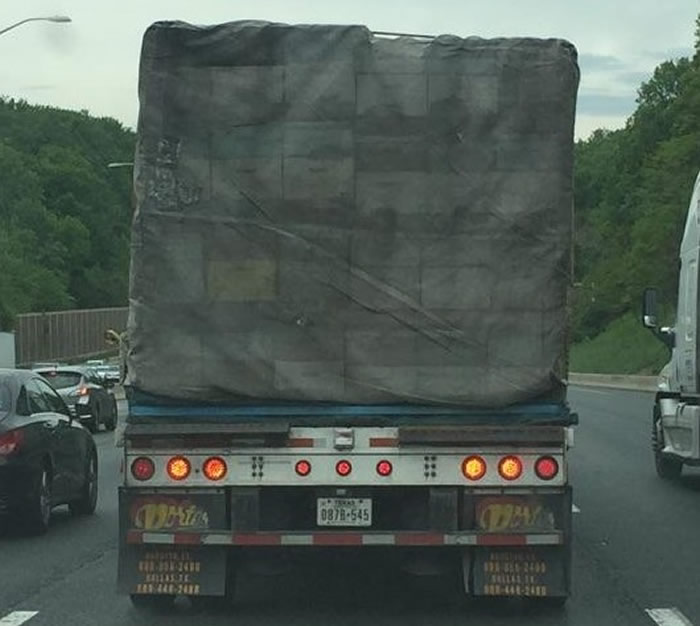 Truck Transporting Delicate Cargo