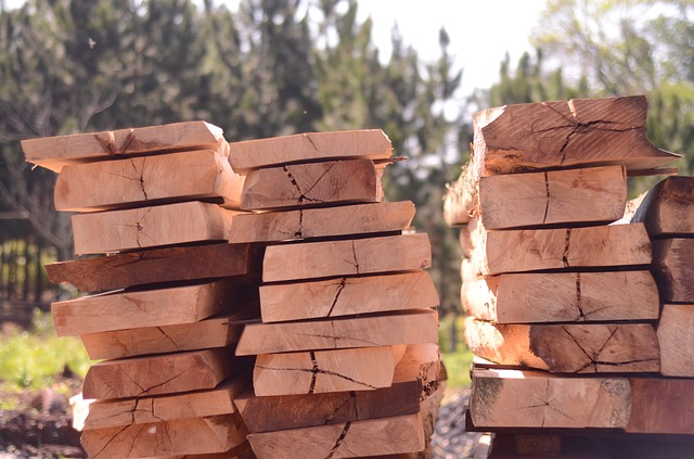 Hardwood Lumber for Pallets