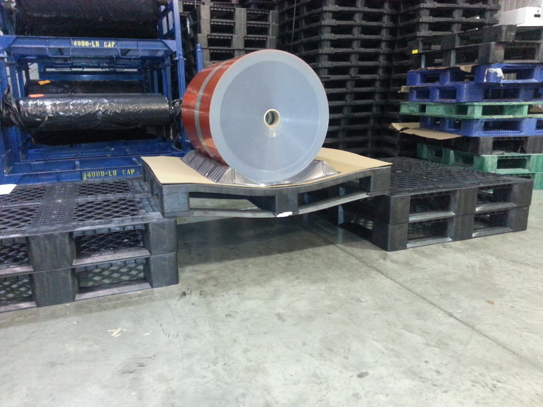racking load pallet test failure