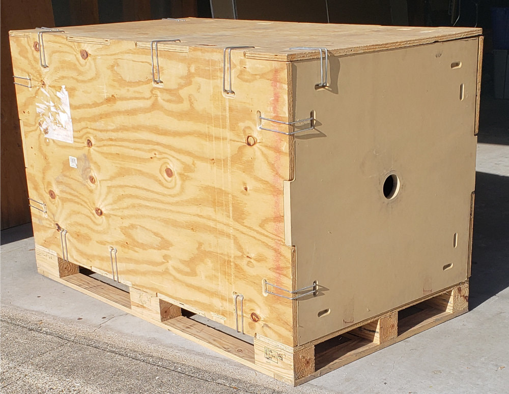 returnable clip crates for shipping