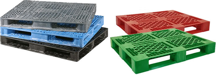 Custom Color Plastic Pallets