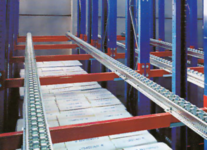 Roller Rack for Rackable Pallets